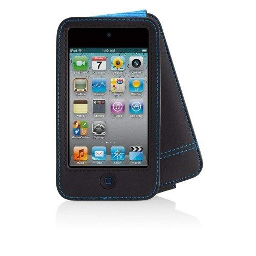 Belkin iPod Touch 4G Verve Leder Schutzhülle, schwarz/ blau