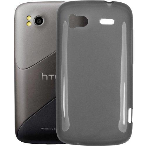 mumbi Silikon Case HTC Sensation Silicon Tasche Hülle -
