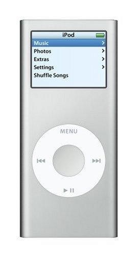 Apple iPod nano MP3-Player 4 GB silber