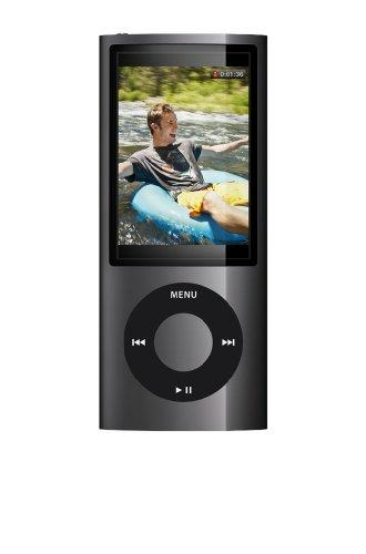 Apple iPod Nano Tragbarer MP3-Player mit Kamera schwarz 16 GB