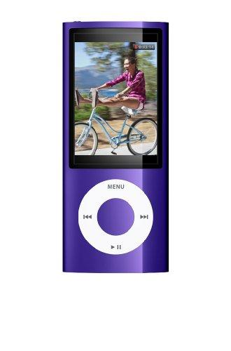 Apple iPod Nano Tragbarer MP3-Player mit Kamera purple 8 GB