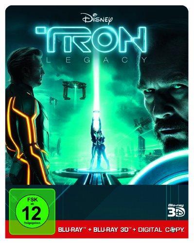 TRON Legacy (limitierte Erstauflage im Steelbook / 3D Blu-ray +