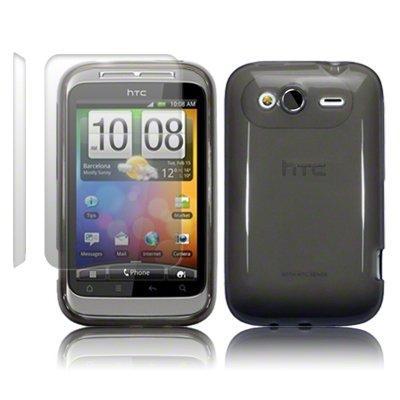 HTC WILDFIRE S TPU SILIKON SCHUTZHÜLLE CASE COVER TASCHE IN