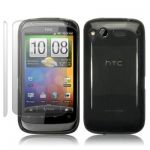 HTC DESIRE S TPU SILIKON SCHUTZHÜLLE CASE COVER TASCHE IN