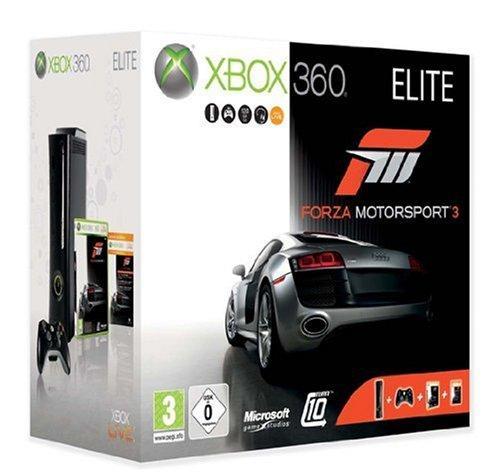 Xbox 360 - Konsole Elite mit 120 GB Festplatte inkl. Forza
