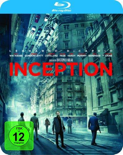 Inception (limited Steelbook, exklusiv bei Amazon.de) [Blu-ray]