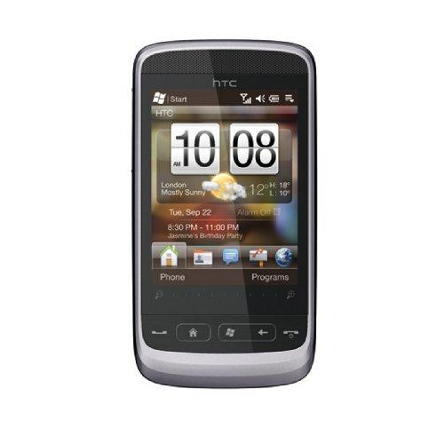 HTC Touch 2 Smartphone Gloss silver (Purple Grey)