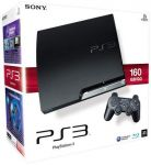 PlayStation 3 – Konsole Slim (K) 160 GB inkl. Dual Shock 3