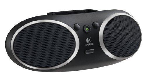 Logitech S135i Tragbarer Lautsprecher für iPhone/iPod schwarz