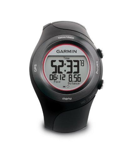 Garmin GPS Sportuhr Forerunner 410, schwarz/rot