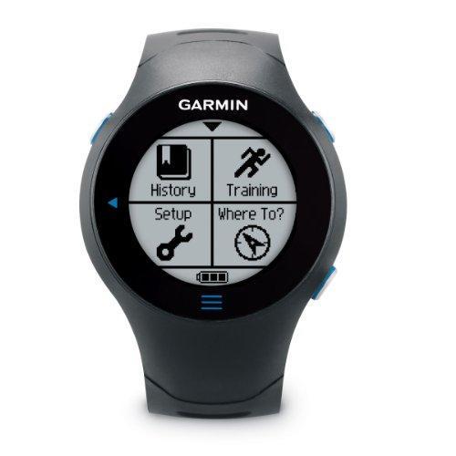 Garmin GPS Sportuhr Forerunner 610, schwarz/blau