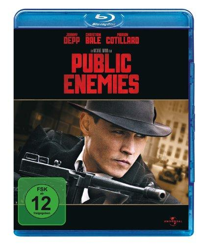 Public Enemies (mit Wendecover) [Blu-ray]