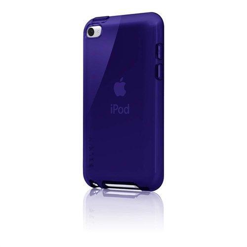 Belkin iPod Touch 4G Grip Vue Schutzhülle, durchsichtig/ blau