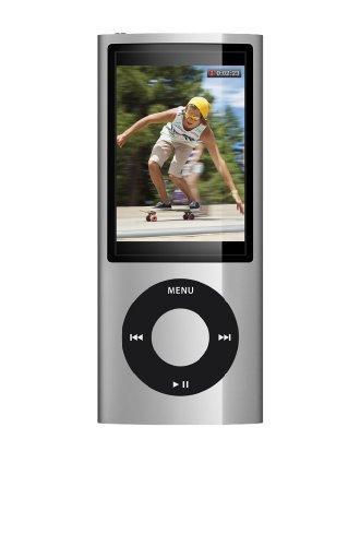 Apple iPod Nano Tragbarer MP3-Player mit Kamera silber 8 GB
