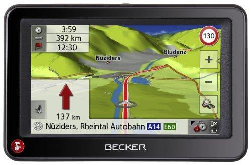 Becker Ready 43 Traffic inkl. TMC (10,9 cm Display,