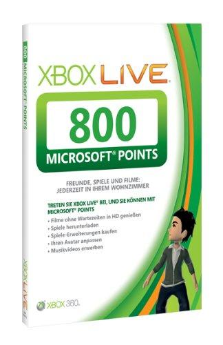 Xbox 360 - Live Points Card 800