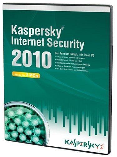 Kaspersky Internet Security 2010 (Lizenz für 3 PCs/DVD-Box)