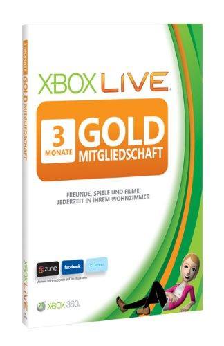 Xbox 360 - Live Gold 3 Monate