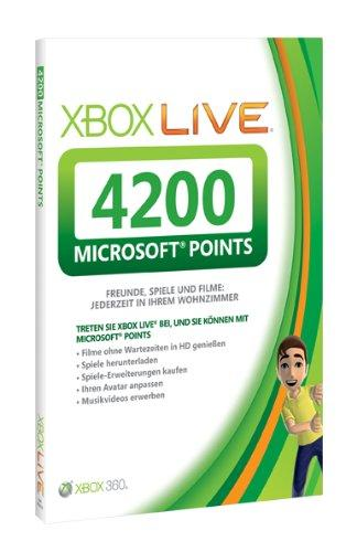 Xbox 360 - Live Points Card 4200
