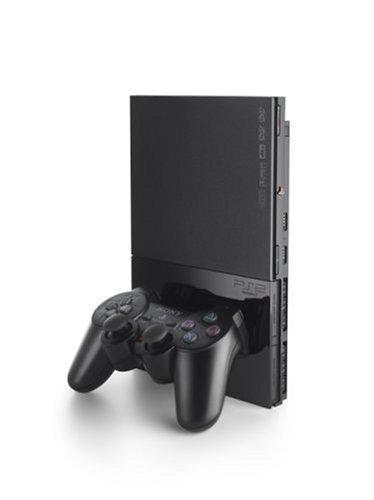 PlayStation 2 Konsole Slim Black (inkl. Dual Shock Controller)