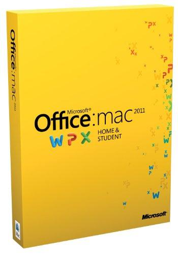 Microsoft Office Mac Home and Student 2011 deutsch