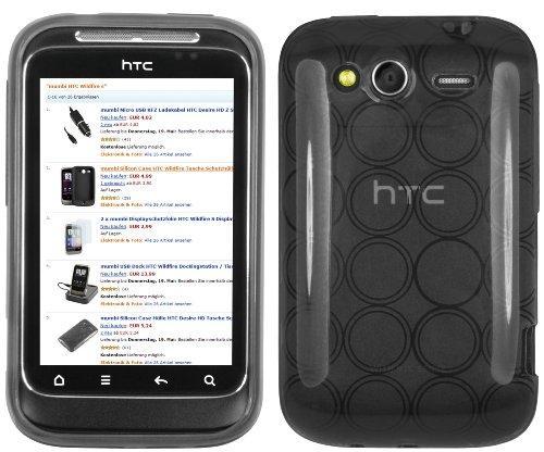 mumbi TPU Silikon Case HTC Wildfire S Silicon Tasche Hülle -