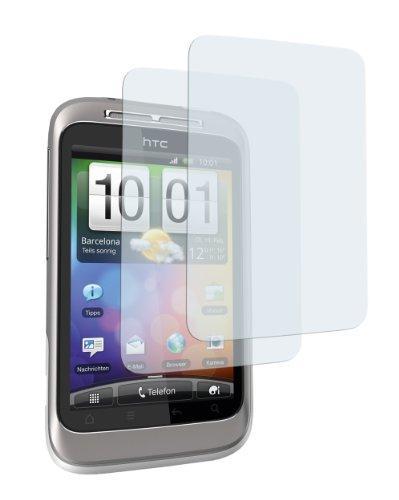 2 x mumbi Displayschutzfolie HTC Wildfire S Displayschutz