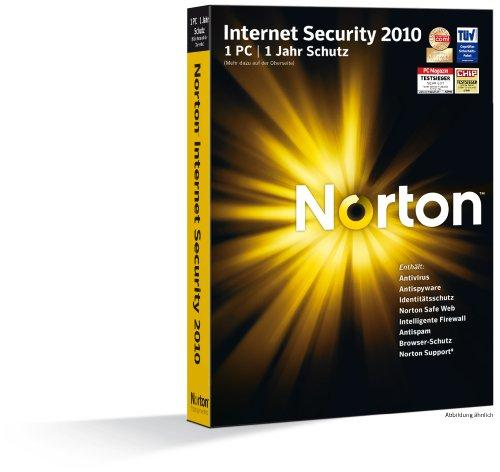 Norton Internet Security 2010 - 1 PC - deutsch