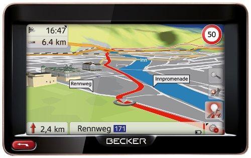 Becker Ready 50 (12,7 cm (5'') Bildschirm, 44 Länder Europas,