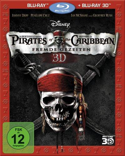 Pirates of the Caribbean - Fremde Gezeiten (3D Blu-ray + 2D