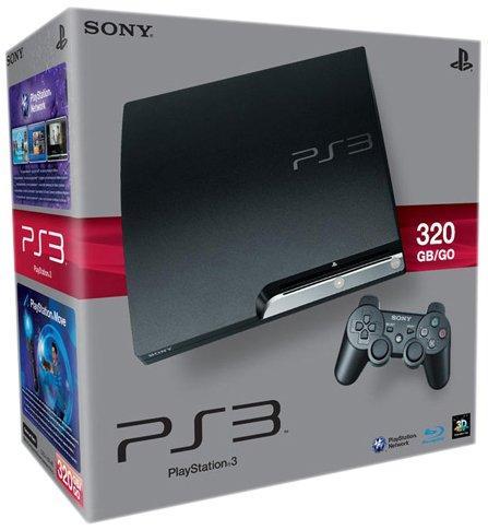 PlayStation 3 - Konsole Slim 320 GB (K-Model) inkl. Dual Shock