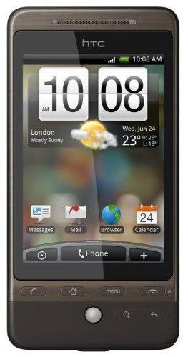 HTC Hero Smartphone (Android, 5MP Kamera, GPS, WLAN) braun