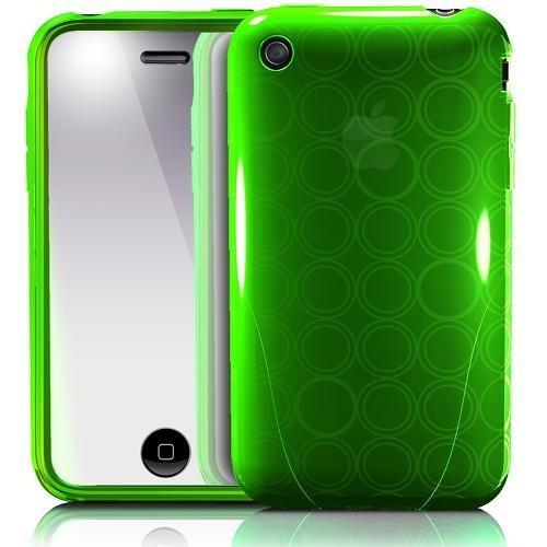 iSkin solo FX Lush tasche für Apple iPhone 3G/3GS grün