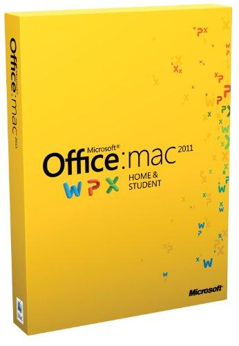 Microsoft Office Mac Home Student Family Pack 2011 deutsch