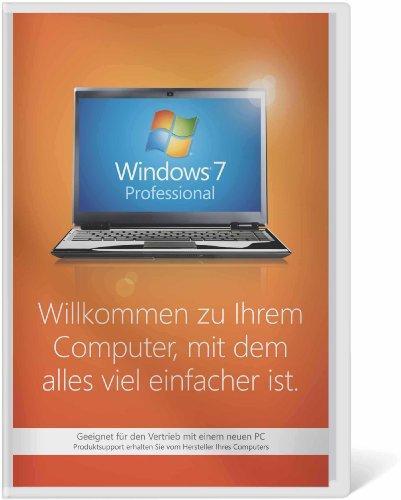 Windows 7 Professional 64 Bit OEM inkl. Service Pack 1