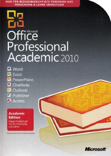 Schulversion Microsoft Office Professional2010 Deutsch -