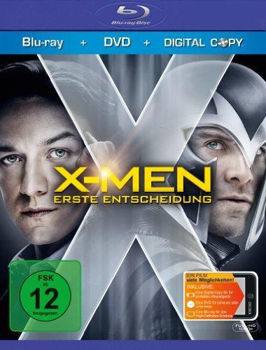 X-Men - Erste Entscheidung (+ DVD) (inkl. Wendecover,