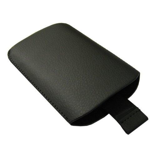 Elegantes Lederetui schwarz Apple Iphone 3G, samtartige