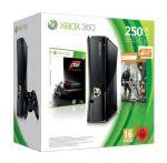 Xbox 360 – Konsole 250 GB, schwarz matt inkl. Forza 3 + Crysis 2