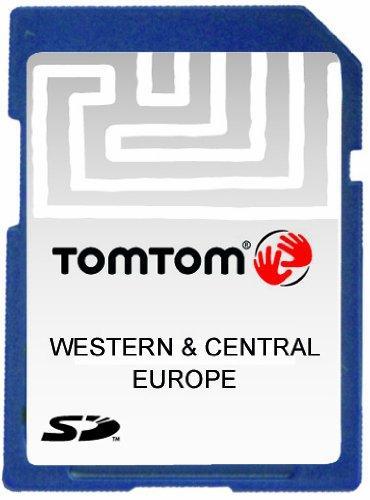 TomTom Map für Western- und Central Europa SD v8.30 IQR