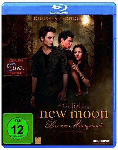 New Moon - Biss zur Mittagsstunde - Deluxe Fan Edition [Blu-ray]