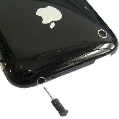 Staub Schutz Stöpsel für iPhone 3G / 3GS inkl. Simkarten Nadel