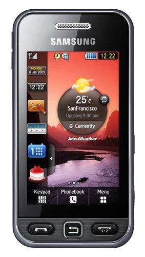 Samsung S5230 Star (Touchscreen, 3MP Kamera, Video, MP3-Player,