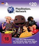 PlayStation Network Card (20 Euro) – Deutschland