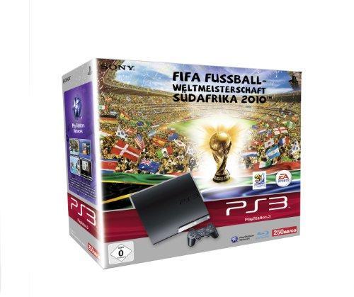 PS3 - Konsole Slim Black 250GB inkl. FIFA