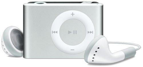Apple iPod shuffle MP3-Player 1 GB silber