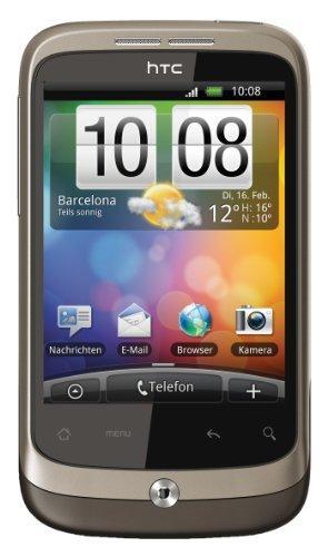 HTC Wildfire Smartphone (5MP, soziale Netzwerke, Android 2.1)