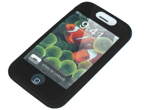 COOL BANANAS Silikon Skin in schwarz für das iPhone