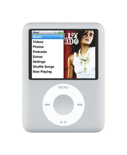 Apple iPod Nano MP3-Player (inkl. Video-Funktion) 4 GB silber