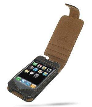 Luxus Ledertasche BiColor für Apple iPhone Flip Style,